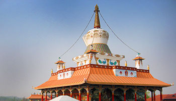 The Great Lotus Stupa Complex, Lumbini